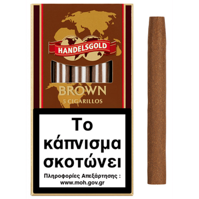 HANDELSGOLD BROWN (COFFEE) 5'S (5 τμχ)