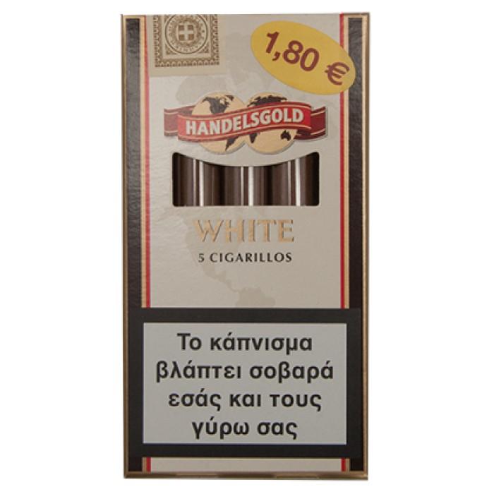 HANDELSGOLD WHITE [Καρύδα ] 5'S (5 τμχ)