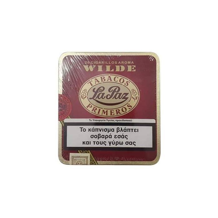 La Paz 20 cigarillos wilde