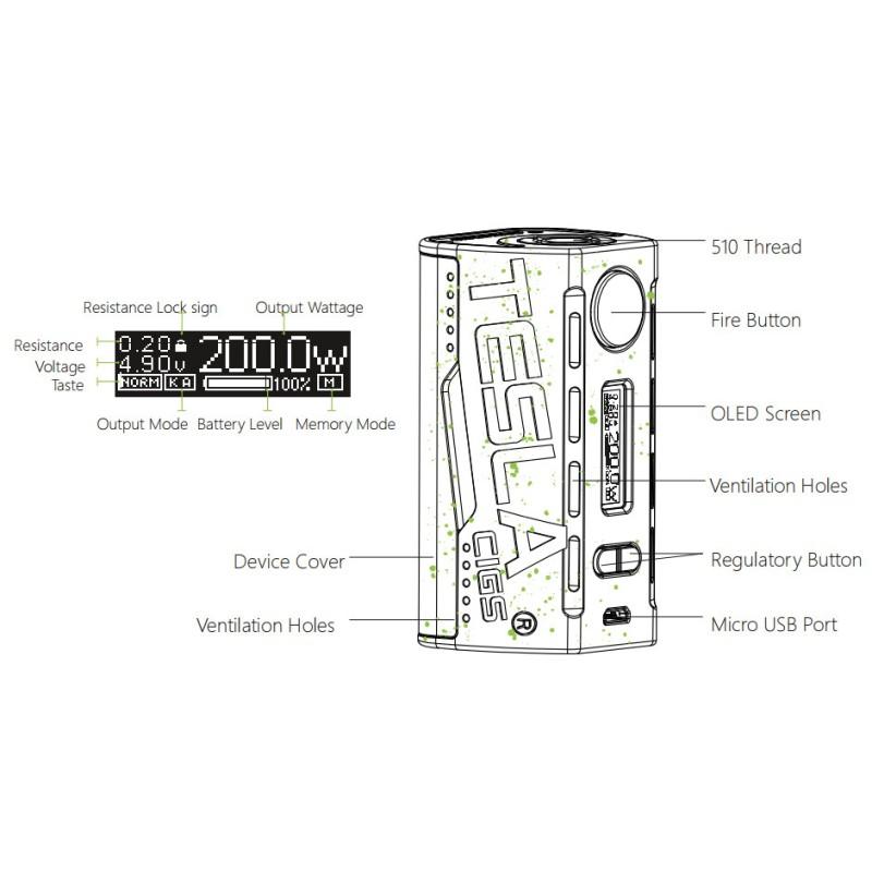 tesla box wye tc 200w