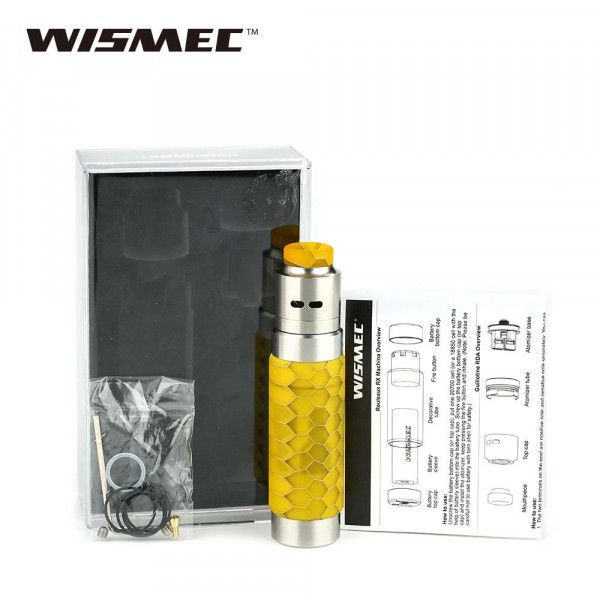 Wismec Reuleaux RX Machina Kit with Guillotine RDA