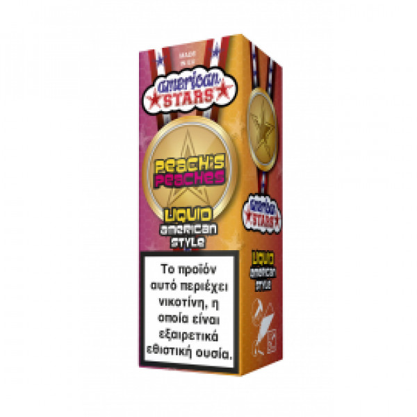 American Stars - Peach's Peaches 10ml