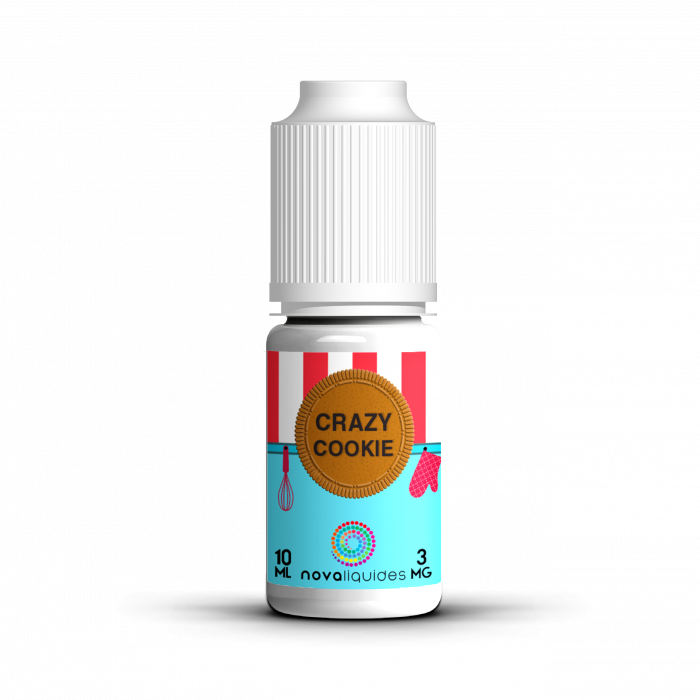 Nova Crazy Cookie Flavor