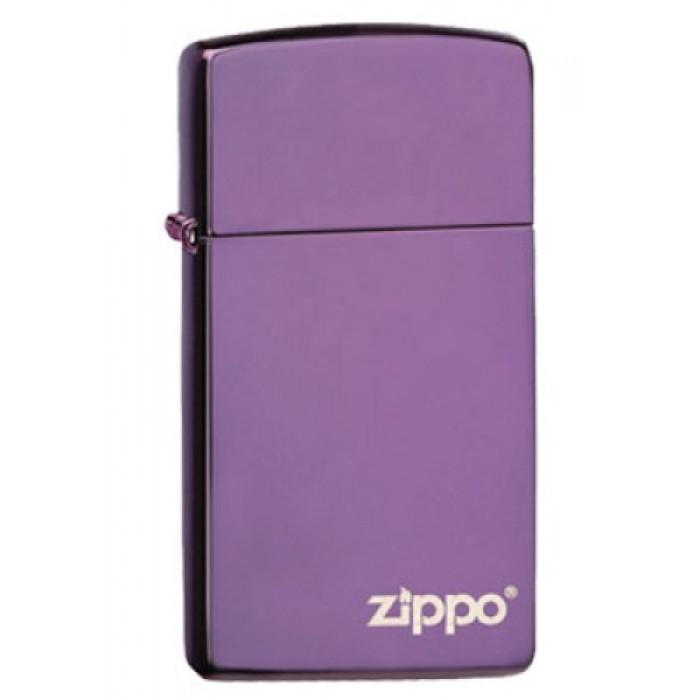 Zippo Slim Abyss Zippo Logo